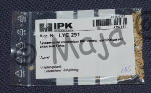 Saatgut LYC 291 von IPK Gatersleben